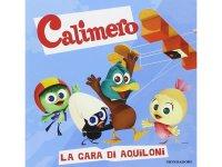 イタリア語で絵本、カリメロを読む La gara di aquiloni. Calimero 対象年齢3歳以上【A1】