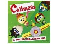 イタリア語で絵本、カリメロを読む Il mistero dell'aeroplano! Calimero 対象年齢3歳以上【A1】