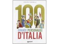 イタリア語で読む、絵本・児童書「イタリアの100人の偉人」 対象年齢8歳以上【A1】