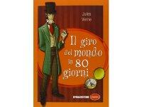 イタリア語で読む 児童書 ジュール・ヴェルヌの「八十日間世界一周」 対象年齢8歳以上【A1】