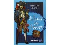 イタリア語で読む 児童書 ロバート・ルイス・スティーヴンソンの「宝島」 対象年齢10歳以上【A1】