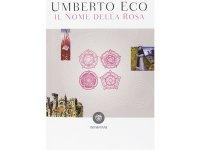 イタリアの作家ウンベルト・エーコの「薔薇の名前 Il nome della rosa」 【C1】【C2】