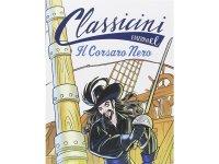イタリア語で読む 児童書 エミリオ・サルガーリの「The Black Corsair」 対象年齢7歳以上【A1】