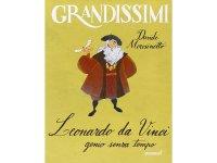 イタリア語で読む 児童書 「レオナルド・ダ・ヴィンチ」 対象年齢7歳以上【A2】【B1】