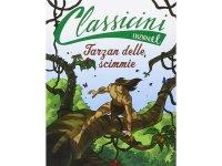 イタリア語で読む 児童書 エドガー・ライス・バローズの「類猿人ターザン」 対象年齢7歳以上【A1】
