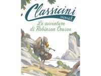 イタリア語で読む 児童書 ダニエル・デフォーの「ロビンソン・クルーソー」 対象年齢7歳以上【A1】