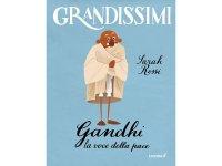 イタリア語で読む 児童書 「マハトマ・ガンディー」 対象年齢7歳以上【A2】【B1】