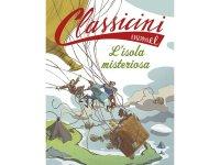 イタリア語で読む 児童書 ジュール・ヴェルヌの「神秘の島」 対象年齢7歳以上【A1】