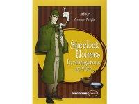 イタリア語で読む 児童書 アーサー・コナン・ドイルの「シャーロック・ホームズの冒険」 対象年齢10歳以上【A1】