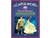 イタリア語でディズニー傑作集の絵本・児童書「プリンセスと魔法のキス」を読む 対象年齢5歳以上【A1】