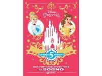イタリア語でディズニー傑作集の絵本・児童書「5分で読めるストーリー プリンセスたちのお話」を読む 対象年齢5歳以上【A1】