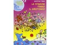 イタリア語で絵本・児童書「四季たちがくるくる踊る」を読む IL MONDO DI SIGNOR ACQUAシリーズ 対象年齢3歳以上【A1】