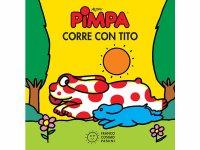 イタリア語で絵本、ピンパを読む Pimpa corre con Tito 対象年齢2歳以上【A1】