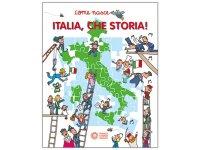 イタリア語で読む、絵本・児童書「イタリアの歴史」 対象年齢5歳以上【A1】