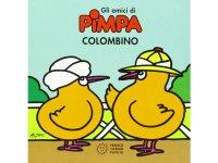 イタリア語で絵本、ピンパを読む Colombino. Gli amici di Pimpa 対象年齢3歳以上【A1】