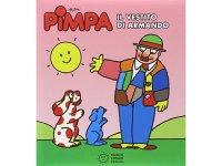 イタリア語で絵本、ピンパを読む Pimpa. Il vestito di Armando 対象年齢3歳以上【A1】