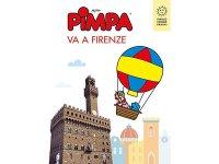 イタリア語で絵本を読む ピンパ、フィレンツェへ行く Pimpa va a Firenze 対象年齢6歳以上【A1】
