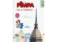 イタリア語で絵本を読む ピンパ、トリノへ行く Pimpa va a Torino 対象年齢6歳以上【A1】