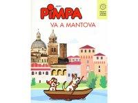 イタリア語で絵本を読む ピンパ、マントヴァへ行く Pimpa va a Mantova 対象年齢6歳以上【A1】