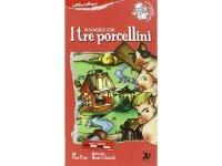 イタリア語 絵本マップ 「三匹の子豚」を読む 対象年齢5歳以上【A1】