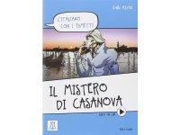漫画で学ぶ、イタリア語 問題集 Il mistero di Casanova 【A1】【A2】