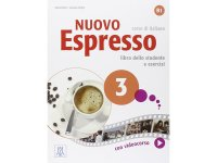 イタリア語を勉強しよう Nuovo Espresso 3 DVD ROM付き教科書、文法テキスト 【B1】