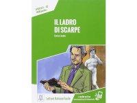 オーディオ付き ストーリーにそって学ぶ単語1500 Il ladro di scarpe イタリア語【A2】