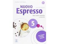 イタリア語を勉強しよう Nuovo Espresso 5 DVD ROM付き教科書&問題集 【C1】