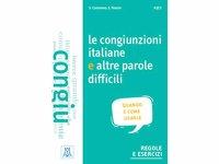 イタリア語 接続詞と難しい単語の使い方の練習ブック Le congiunzioni italiane e altre parole difficili 【A1】【A2】【B1】【B2】【C1】
