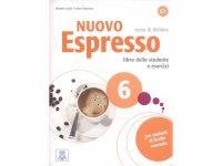 イタリア語を勉強しよう Nuovo Espresso 6 CD付き教科書&問題集 【C1】