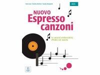 イタリア語を歌で勉強しよう NUOVO Espresso - canzoni 教科書、問題集、文法テキスト 【A1】【A2】【B1】