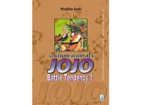 イタリア語で読む、荒木飛呂彦の「ジョジョの奇妙な冒険 戦闘潮流」1巻-4巻 【B1】