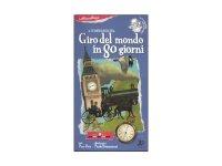 イタリア語 絵本マップ 「八十日間世界一周」を読む 対象年齢5歳以上【A1】