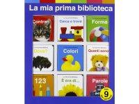 イタリア語で絵本集「La mia prima biblioteca」を読む 9冊セット 対象年齢1歳以上【A1】