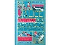 イタリア語で読む、ポップアップ絵本・児童書「不思議の国のアリス」対象年齢7歳以上 【A1】