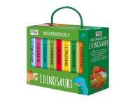 イタリア語で絵本集「I dinosauri 恐竜」を読む 8冊セット 対象年齢1歳以上【A1】