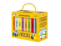 イタリア語で絵本集「I veicoli 乗り物」を読む 8冊セット 対象年齢1歳以上【A1】