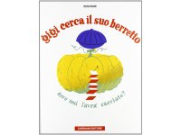 イタリア語で読むデザイナー・美術家ブルーノ・ムナーリ「ジジはぼうしなくした Gigi cerca il suo berretto」 【A2】【B1】【B2】