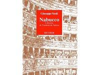 楽譜 Nabucco - Dramma lirico in quattro atti - VERDI - RICORDI