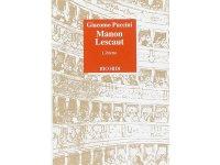 楽譜 Manon Lescaut - Dramma lirico in tre atti - PUCCINI - RICORDI