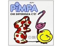 イタリア語で絵本、ピンパを読む Pimpa: che differenza c'e'? 対象年齢3歳以上【A1】