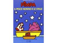 イタリア語で絵本、ピンパを読む Pimpa, il pesce nonno e le stelle 対象年齢5歳以上【A1】