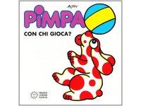 イタリア語で絵本、ピンパを読む Pimpa con chi gioca? 対象年齢3歳以上【A1】