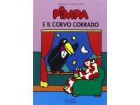 イタリア語で絵本、ピンパを読む Pimpa e il corvo Corrado 対象年齢5歳以上【A1】
