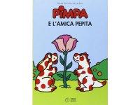 イタリア語で絵本、ピンパを読む Pimpa e l'amica Pepita 対象年齢5歳以上【A1】