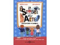 イタリア語で読む、遊ぶ絵本・児童書「子供に語る美術史」 対象年齢7歳以上【A1】