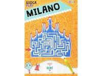 イタリア語、英語で 遊ぶマップを読む 「GIOCA MILANO」 対象年齢7歳以上【A1】