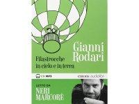 イタリアの児童文学作家ジャンニ・ロダーリのオーディオブック「Filastrocche in cielo e in terra letto da Neri Marcorè」【B1】