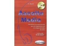 CD付き 聞き取りテキスト 問題集 Ascolto Medio イタリア語 【B1】【B2】