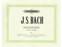 楽譜 Orgelwerke in 9 Banden - Band 4 - BACH